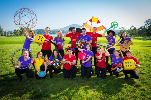 Science circus group