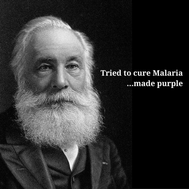 Tried to cure MalariaMade purple